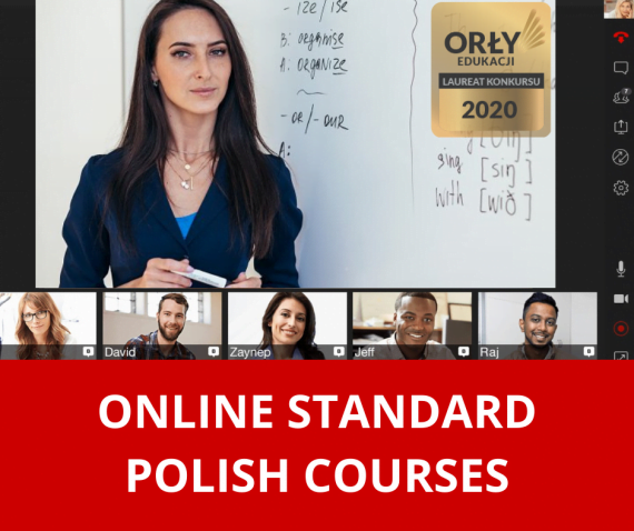 POLISH COURSES - ONLINE